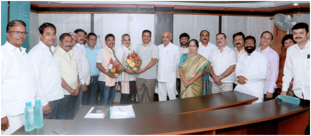 Janata Bank Chairman Vice Chairman Madahav Sarda & Avinash Bachal